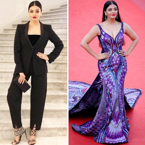 Aishwarya Rai grabs the attention at Cannes with her captivate looks, aishwarya rai grabs the attention at cannes with her captivate looks,  cannes 2018,  aishwarya rai look like a butterfly in purple gown,  aishwarya rai bachchan cannes 2018,  cannes film festival 2018,  red carpet,  cannes,  aishwarya rai bachchan,  purple gown,  fashion trends 2018,  #ootd,  latest outfits ifairer
