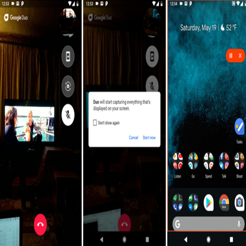Google Duo new update: Gets screen sharing feature , google duo new update,  gets screen sharing feature,  google duo update,  screen-sharing feature,  new app,  google,  technology,  ifairer