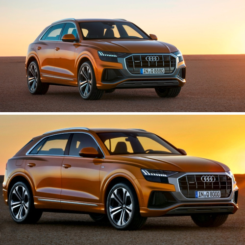 Audi's next-gen flagship SUV revealed with new smart features, audi next-gen flagship suv revealed with new smart features,  audi q8 flagship suv,  audi flagship suv,  audi q8 (2018) suv,  new car,  automobiles,  technology