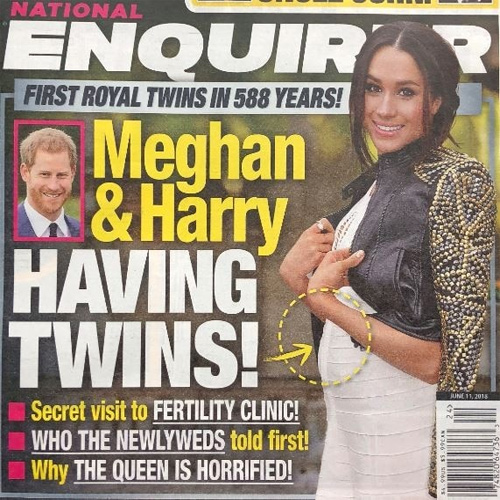 Meghan Markle pregnant with twins!, meghan markle pregnant with twins,  meghan markle,  prince harry,  duchess of sussex,  hollywood news,  hollywood gossip,  ifairer