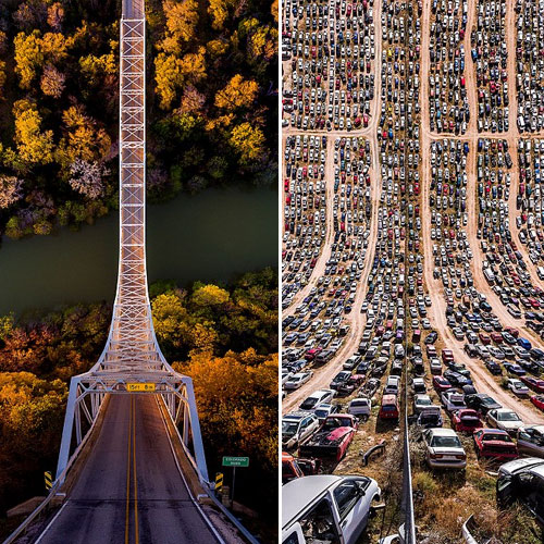 Astonishing pictures of roads and tracks that will blow your mind , astonishing pictures of roads and tracks that will blow your mind,  mind-bending images of roads and tracks,  america,  destinations,  travel,  places,  ifairer