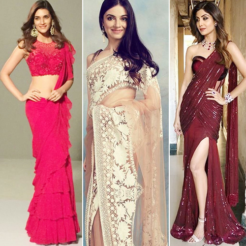 Saree trends: To rock this season with unique style, saree trends: to rock this season with unique style,  bollywood actresses in saree and blouse,  saree moments of bollywood actress,  unique saree trend,  latest party wear saree trends,  latest saree trends,  fashion tips,  ifairer