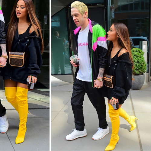 Trending News Viral Added A New Photo: Ariana Grande New Fashion Trends Go Viral In Pant-less