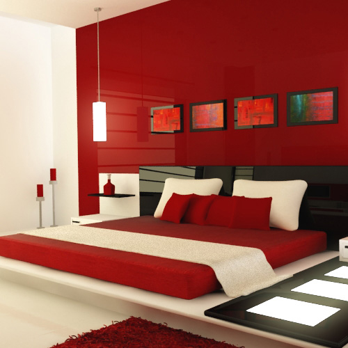 Decor bedroom with red color and set a romantic mood, decor bedroom with red color and set a romantic mood,  attractive sexy red colour rooms,  decorate bedroom with red,  romantic colours for your bedroom,  colours that bring romance into the bedroom,  bedroom decor,  home decor,  ifairer