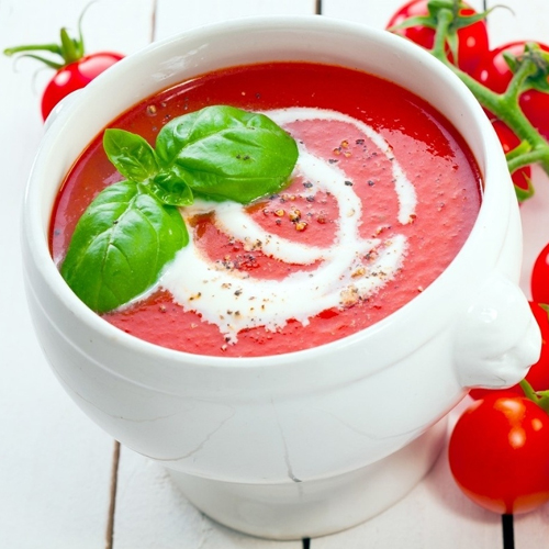 Make tomato soup at home