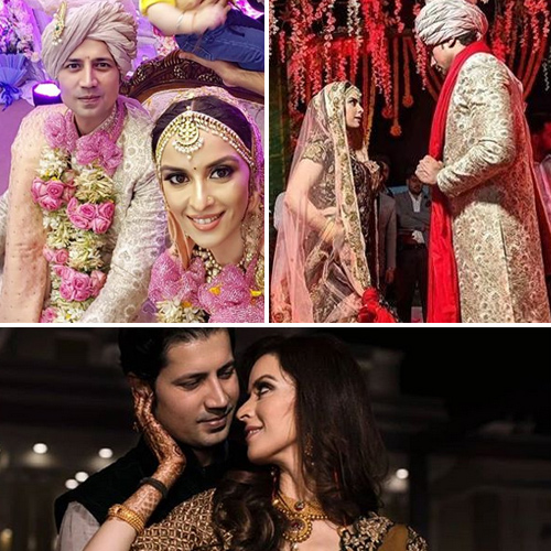 Inside wedding pics: Sumeet Vyas and Ekta Kaul tied the knot , inside wedding pics,  sumeet vyas and ekta kaul tied the knot,  sumeet vyas,  ekta kaul gets married,  sumeet vyas and ekta kaul wedding pics,  tv gossips,  tv celebs wedding,  ifairer