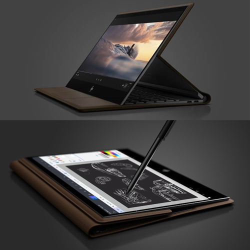 HP to launch world's first leather laptop, used in 3 different positions, hp to launch world first leather laptop,  used in 3 different positions,  hp reinvents the pc with the new spectre folio,  world first leather laptop,  hp spectre folio,  new laptop,  ifairer