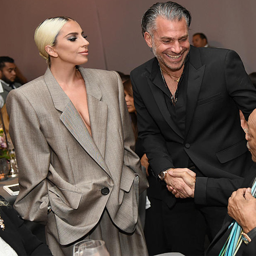 Lady Gaga confirmed her engagement to Christian Carino, lady gaga confirmed her engagement to christian carino,  lady gaga casually announced her engagement,  #ladygaga,  lady gaga,  christian carino,  hollywood news,  hollywood gossip,  ifairer