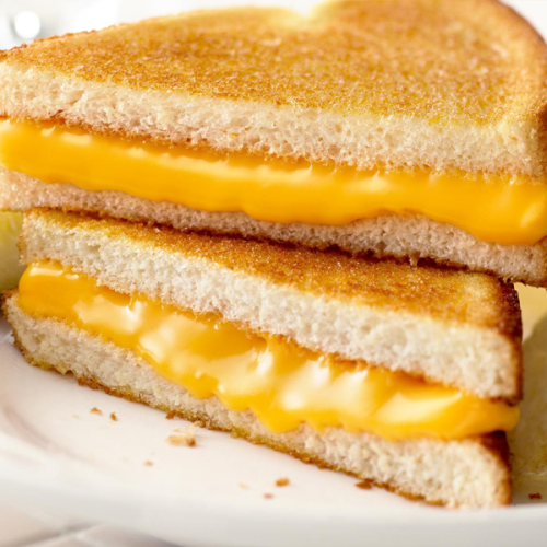 Recipe of grilled cheese sandwich at home