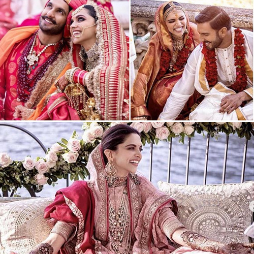 Deepika-Ranveer's wedding album: A look at fairy-tale wedding photos, deepika-ranveer wedding album,  a look at fairy-tale wedding photos,  deepika ranveer wedding pictures,  wedding pics of deepika padukone and ranveer singh,  deepika padukone and ranveer singh tie the knot,  deepika padukone ranveer singh sindhi wedding,  padmaavat actors tie the knot in a traditional konkani ceremony,  #deepveerkishaadi detail inside,  sabyasachi outfit,  mehendi and sangeet ceremony,  #deepveerkishaadi,  deepika padukone-ranveer singh wedding,  konkani wedding,  sikh ceremony,  bollywood news,  bolywood gossip