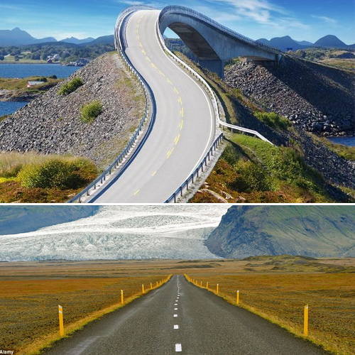 Stunning roads of world, you should drive this year, stunning roads of world that you must take in 2018,  most breathtaking highways in the world,  most beautiful highways in the world,  world most beautiful highways,  world awesome highways,  most amazing roads in the world,  most beautiful scenic roads in the world,  destinations,  ifairer