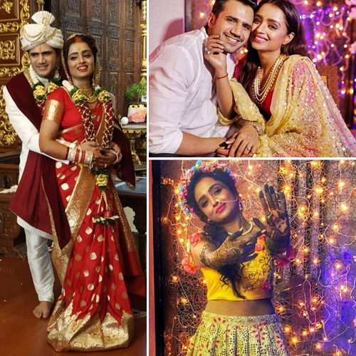 Yeh Rishta Kya Kehlata Hai actor Parul Chauhan ties the knot, yeh rishta kya kehlata hai actor parul chauhan ties the knot,  parul chauhan tied the knot to chirag thakkar,  tv celebs wedding,  tv gossips,  ifairer