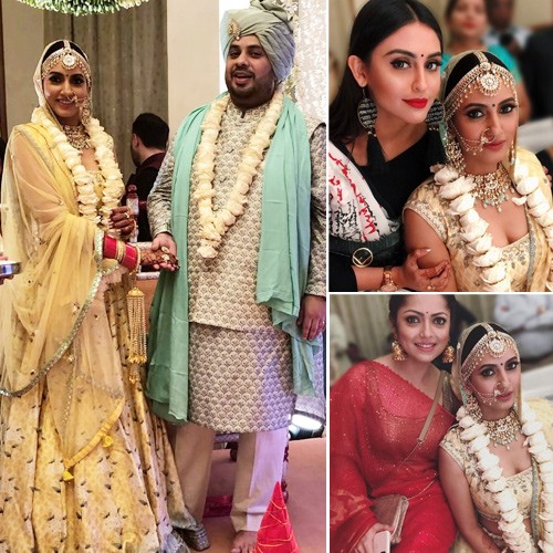 TV actor Additi Gupta gets married with Kabir Chopra, see wedding pics, tv actor additi gupta gets married with kabir chopra,  see wedding pics,  ishqbaaaz actor additi gupta is now married,  tv celebs wedding,  wedding 2018,  additi gupta,  
