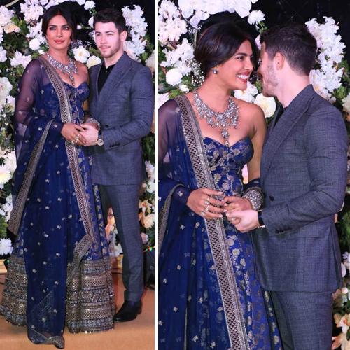 Priyanka-Nick Mumbai reception: They look like a royal couple, priyanka chopra and nick jonas mumbai reception,  they look like a royal couple,  priyanka chopra nick jonas mumbai reception,  priyanka chopra,  nick jonas,   hollywood news,  hollywood gossip,  ifairer