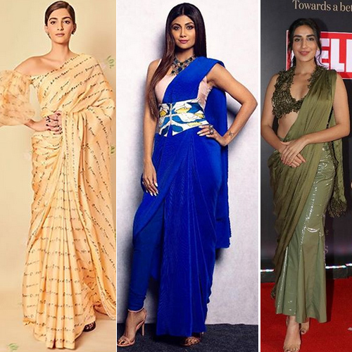 Saree trends that will rule in 2019 , saree trends that will rule in 2019,  bollywood actresses in saree and blouse,  saree moments of bollywood actress,  latest party wear saree trends,  latest saree trends,  trending saree trends for 2019,  saree trends,  fashion tips,  ifairer