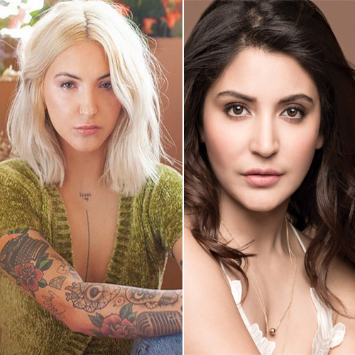American singer Julia Michaels has an exact resemblance to Anushka Sharma