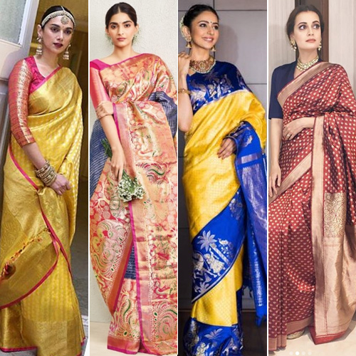 South Indian avatars, to rock this season, bollywood actress in south indian avatars,  to rock this season,  saree looks you would love to steal from these south indian actresses,  saree trends of south indian actresses,  south indian saree,  latest fashion,  fashion trends 2019,  ifairer