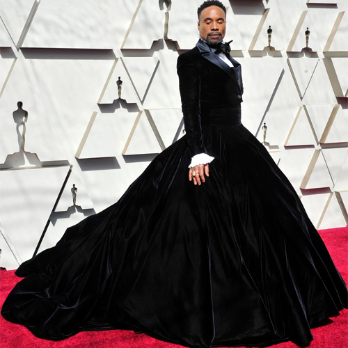 Billy Porter slays the most dramatic tuxedo dress on 2019 Oscars, billy porter slays the most dramatic tuxedo dress on 2019 oscars,  oscars 2019,  billy porter tuxedo dress at oscar 2019,  2019 oscars,  hollywood news,  hollywood gossip,  ifairer