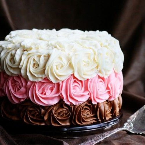Recipe of Chocolate sponge cake with rose butter cream, recipe of chocolate sponge cake with rose butter cream,  how to make chocolate sponge cake with rose butter cream,  cake recipe,   desserts,  ifairer
