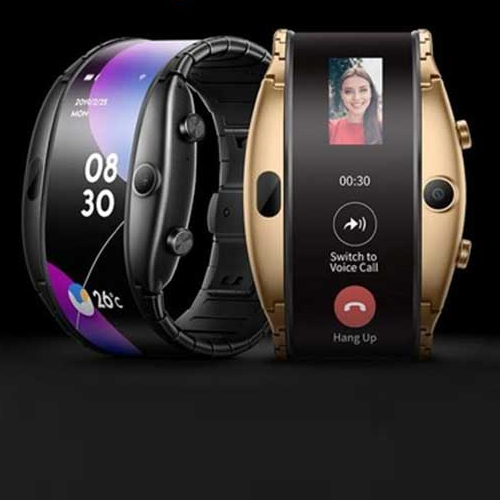 Nubia Alpha Smartwatch launched with foldable OLED display