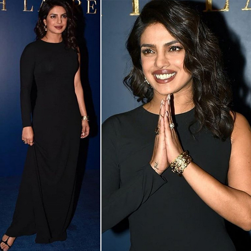 The whopping cost of Priyanka Chopra's black outfit will make you question, the whopping cost of priyanka chopra black outfit will make you question,  priyanka chopra wore a black dress to a store launch and it costs an exorbitant rs 2 lakh,  priyanka chopra,  hollywood news,  hollywood gossip,  ifairer