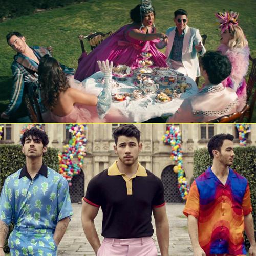 The desi Hum Saath Saath Hain version of Jonas Brothers Sucker going viral, the desi hum saath saath hain version of jonas brothers sucker going viral,  jonas brothers,  sucker,  hollywood news,  hollywood gossip,  ifairer