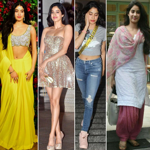 Jhanvi Kapoor steal a glance in these indo western looks, jhanvi kapoor steal a glance in these indo western looks,  janhvi kapoor wows us with her fashion files,  jhanvi kapoor style file,  jhanvi kapoor,  outfits,  fashion tips,  ifairer