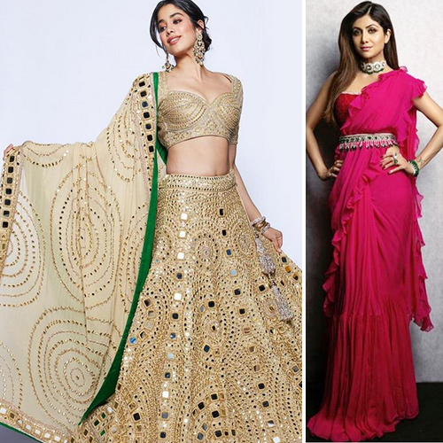 Ways to accessorize a traditional outfits with trendy jewellery this season