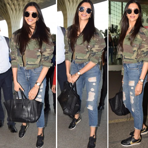 Deepika Padukone's latest bag price is equal to the cost of your next Europe trip!, deepika padukone latest bag price is equal to the cost of your next europe trip,  deepika padukone wore rs 2.6 lakh bag at airport,  deepika padukone,  bollywood news,  bollywood gossip,  ifairer