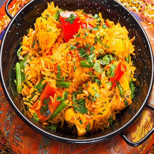 How to make yummy vegetable biryani, how to make yummy vegetable biryani,  recipe of vegetable biryani,  recipe,  vegetable biryani,  main course,  ifairer