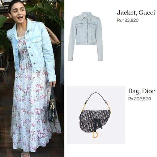Alia Bhatt's casual look for a lunch date cost Rs 3.8 lakhs, alia bhatt casual look for a lunch date cost rs 3.8 lakhs,  alia bhatt,  alia bhatt dress price,  fashion trends 2019,  latest fashion,  ifairer