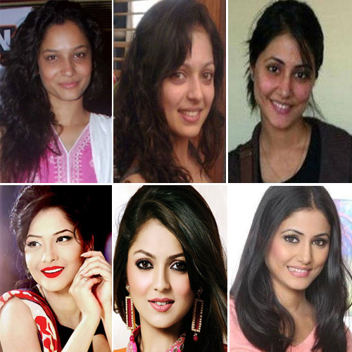 Unrecognizable photos of celebs without makeup, unrecognizable photos of celebs without makeup,  tv actress who look shocking without makeup,  shocking pictures of bollywood actresses without makeup,  tv gossips,  ifairer