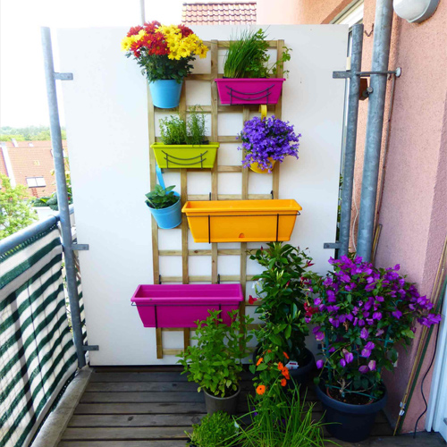 How to make your small balcony look bigger and attractive
