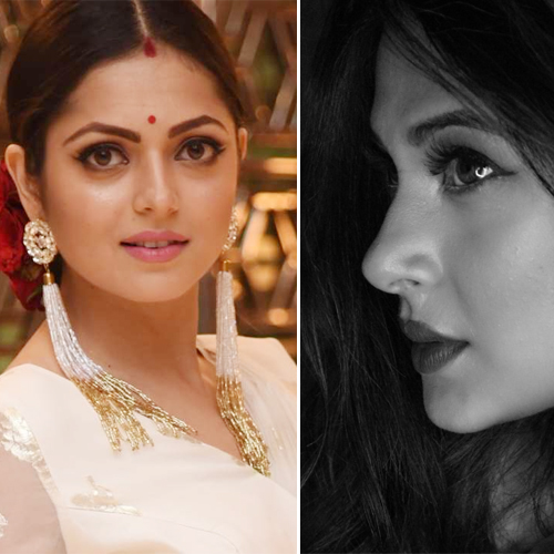 Indian Television actress with smoky and beautiful eyes