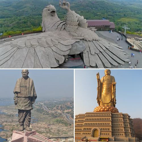 Biggest bird sculpture in the world from India, List of 10 tallest statues, biggest bird sculpture in the world from india,  list of 10 tallest statues,  world tallest statues,  the largest bird sculpture in the world,  destinations,  travel,  ifairer