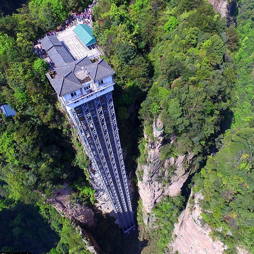 10 Most marvellous but scariest lifts of the world Slide 1