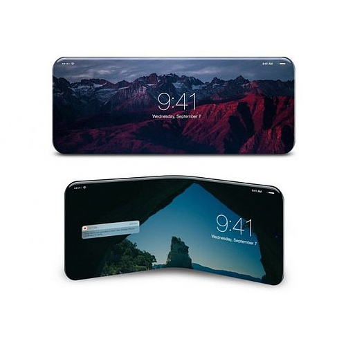 Apple building a phone which folds twice, apple building a phone which folds twice,  apple building a folding phone,  apple folding iphone,  apple is creating a phone which folds twice,  new smartphone,  technology,  ifairer