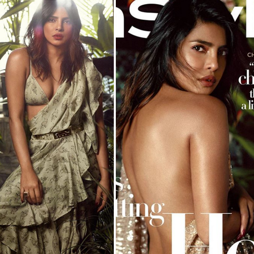 Priyanka Chopra is flaunting her desi saree avatar, she look damn hot , priyanka chopra is flaunting her desi saree avatar,  she look damn hot,  priyanka chopra jonas brings back sexy desi girl vibes for new photoshoot,  priyanka chopra magazine cover shoot,  priyanka chopra on the cover of instyle magazine july 2019,  hollywood news,  hollywood gossip,  ifairer