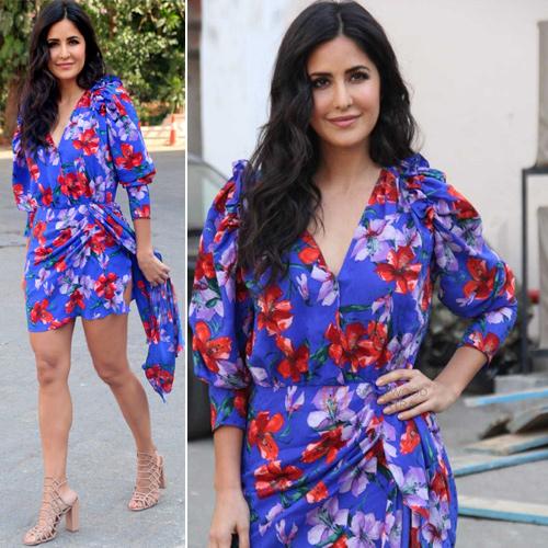Katrina Kaif's floral dress price will amaze you, katrina kaif floral dress price will amaze you,  katrina kaif splurges rs 1 lakh for a floral dress,  katrina kaif,  bollywood news,  bollywood gossip,  ifairer