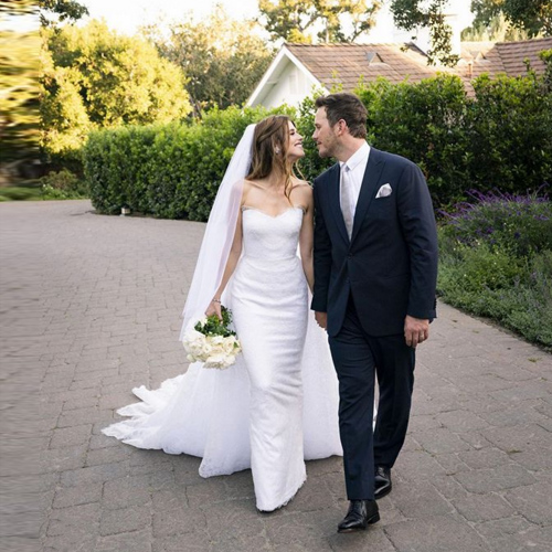 Chris Pratt and Katherine Schwarzenegger tied the knot, chris pratt and katherine schwarzenegger tied the knot,  chris pratt,  katherine schwarzenegger,  hollywood news,  hollywood gossip,  guardians of the galaxy,  ifairer