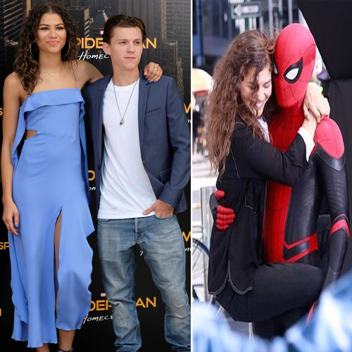 Tom Holland dating Zendaya!, tom holland dating zendaya,  tom holland is dating spider man: far from home co star zendaya,  tom holland,  zendaya,  spider man: far from home,  avengers: endgame star clarifies,  hollywood news,  hollywood gossip,  ifairer