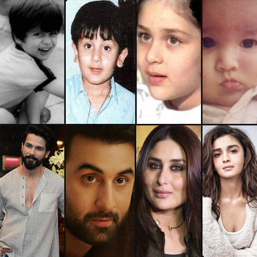 Rare and unseen childhood photos of Bollywood celebs