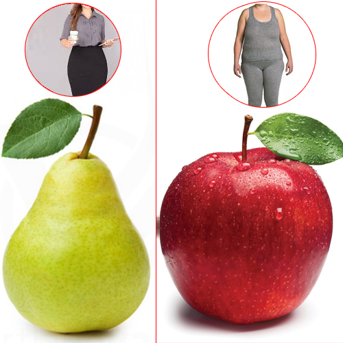 Study: Women who are pear-shaped may be healthier than apple-shaped