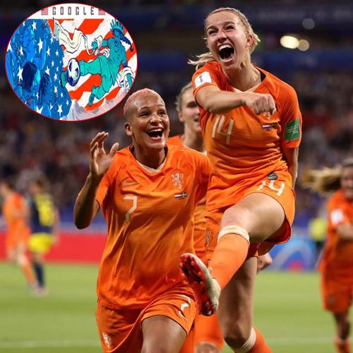 FIFA Women's World Cup 2019: Google Doodle Celebrates, fifa women world cup 2019,  google doodle celebrates,  google doodle celebrates fifa women world cup final,  fifa women world cup 2019 final,  usa vs netherlands,  ifairer