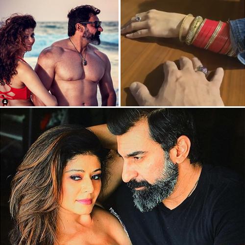 Pooja Batra and Nawab Shah get secretly married, pooja batra and nawab shah get secretly married,  pooja batra ties the knot with nawab shah,  bollywood celeb wedding,  pooja batra,  nawab shah,  bollywood news,  bollywoodn gossip,  ifairer