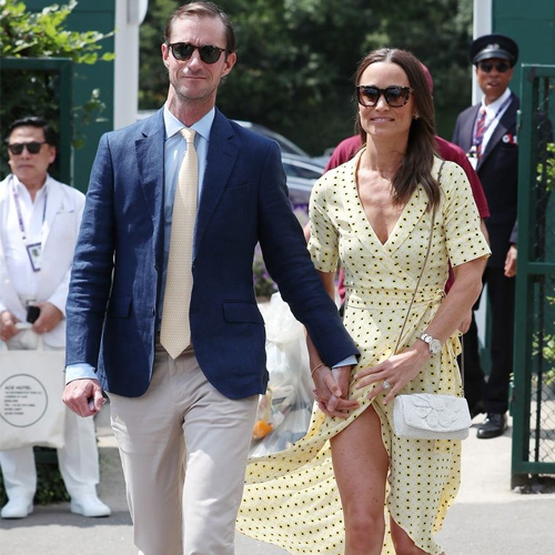 Kate Middleton sister Pippa Middleton's wardrobe malfunction