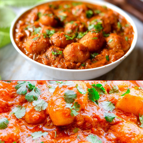 How to make spicy dum aloo