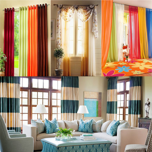 Choose the right curtains and make your home more stylish