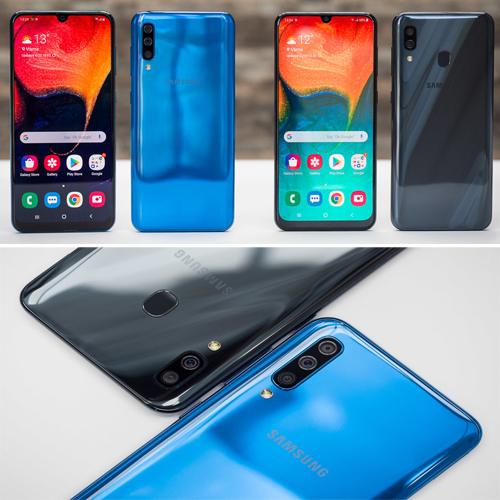 Samsung Galaxy A30s and Galaxy A50s launched with triple rear cameras, in-display fingerprint scanner , samsung galaxy a30s & galaxy a50s launched with triple rear cameras,  in-display fingerprint scanner,  samsung galaxy a30s,  samsung galaxy a50s,  price,  specifications,  features,  technology