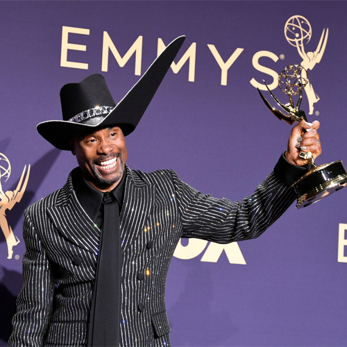 Pose's Billy Porter makes LGBTQ history at Emmys 2019, pose billy porter makes lgbtq history at emmys 2019,  emmys 2019,  billy porter makes history with best actor in a drama,  billy porter,  hollywood news,  hollywood gossip,  ifairer